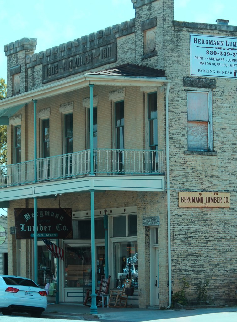 Family owned lumber and home décor for three generations. Bergmann Lumber on Boerne Main Street.