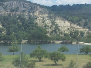 The hills between Boerne and Leakey Texas