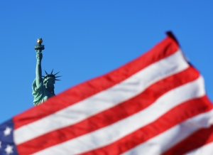 Lady Liberty from the boat. photo  taken by Jolene Navarro