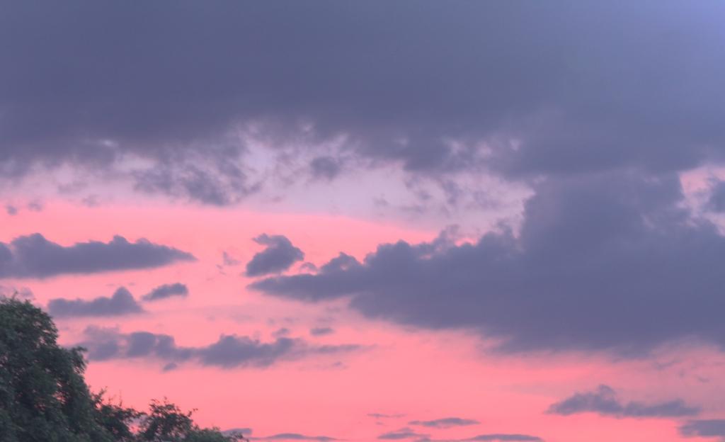 Sunset over Hondo Texas