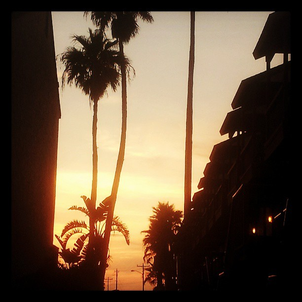 Sunset Port Aransas