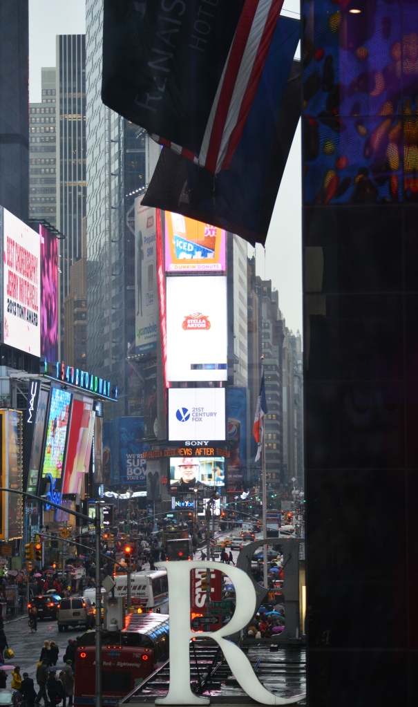 Times Square from the M&M Store