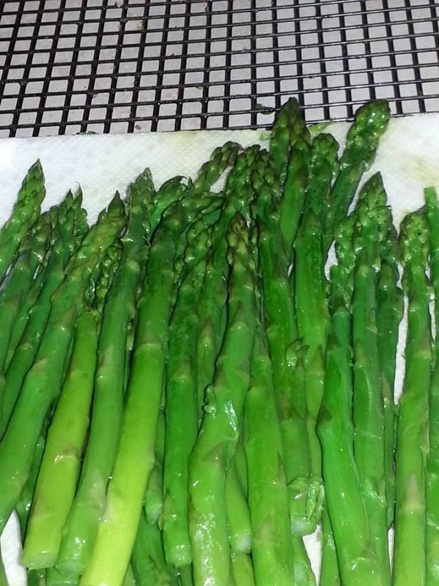 When I was little I couldn't eat asparagus, now it is one of my favorites