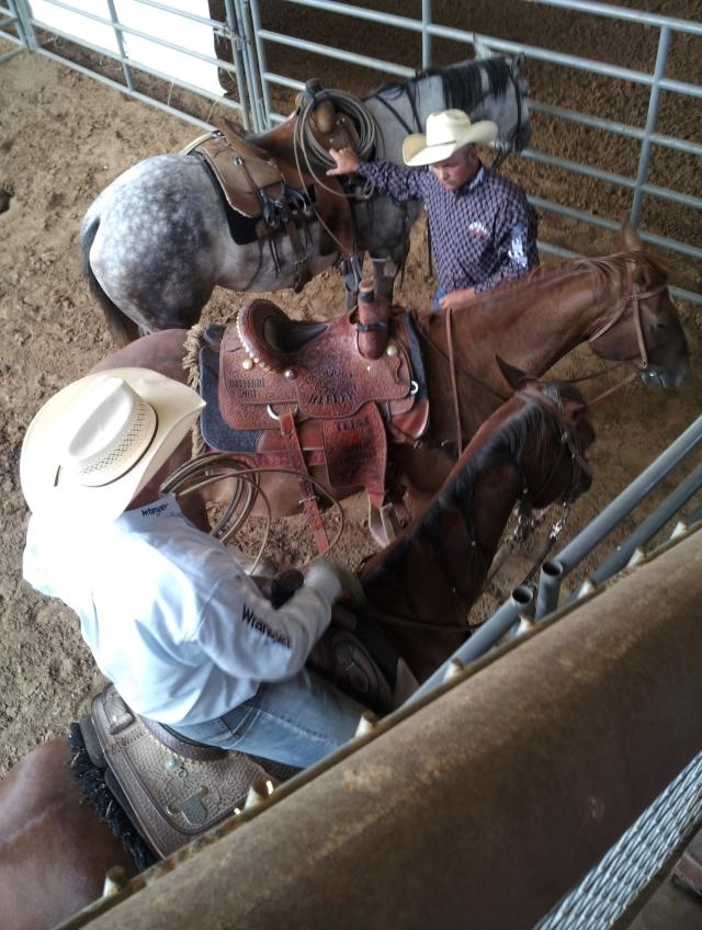 Waiting for the Bull Riding event. Tejas Rodeo Bulverde Texas. Taken by Jolene Navarro