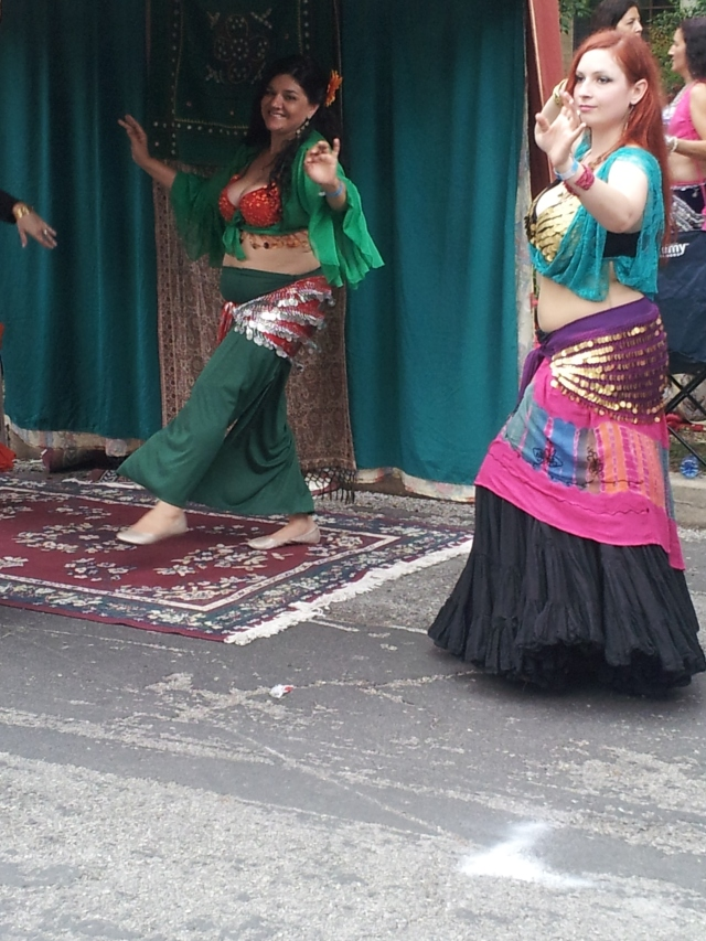 Belly Dancers at the King William Art & Craft Show - Taken by Jolene Navarro 2013