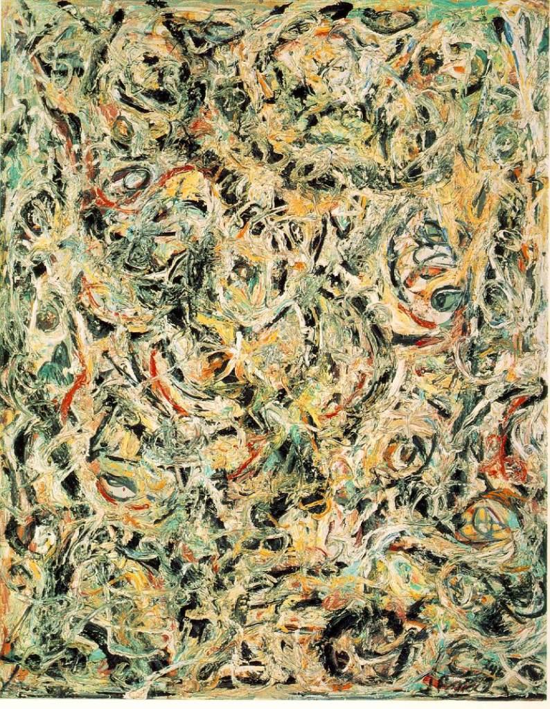Jackson Pollock 1946 Eyes in the Heat