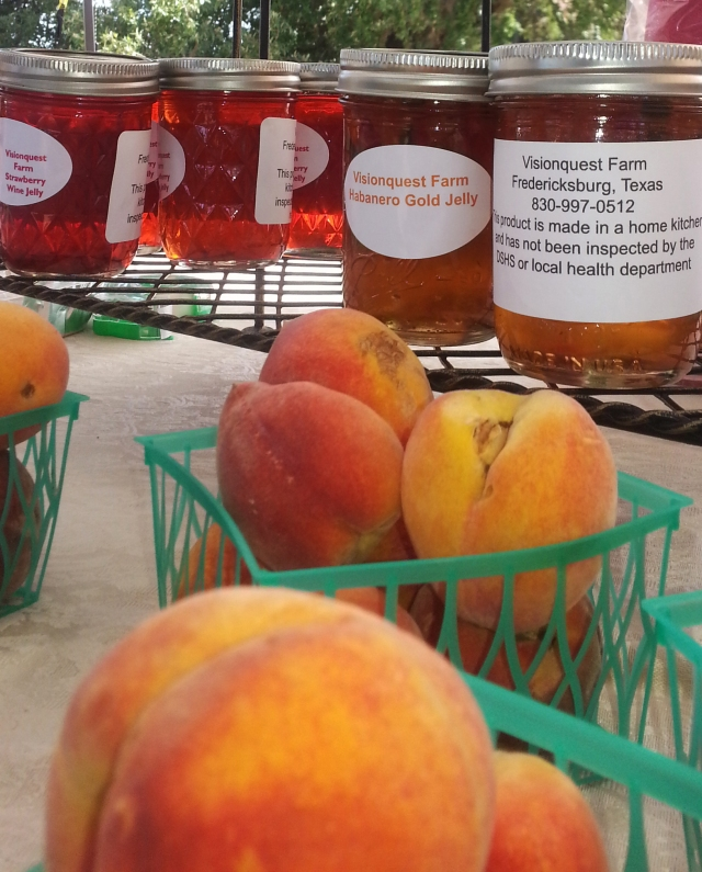 Fresh Texas peaches make some of the best jams