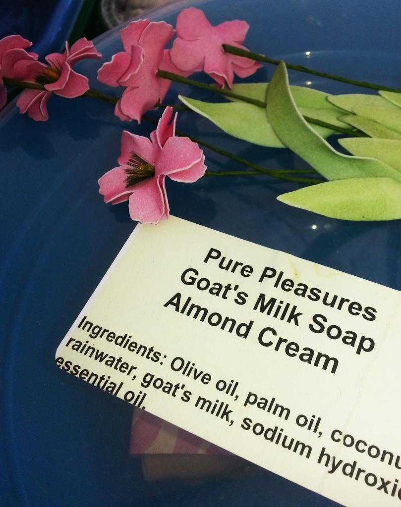 Homemade creams made from farm fresh produce.