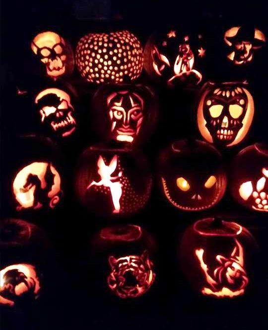 Carved Pumpkins 2014