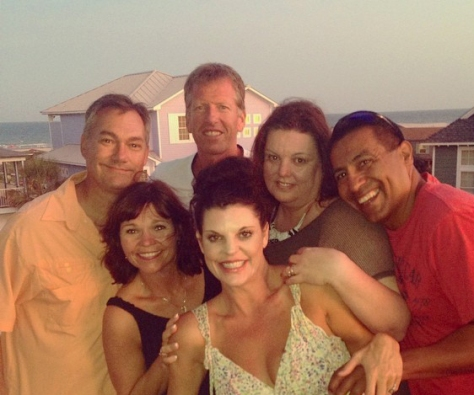Great times with family and friends at Port A on the Texas coast