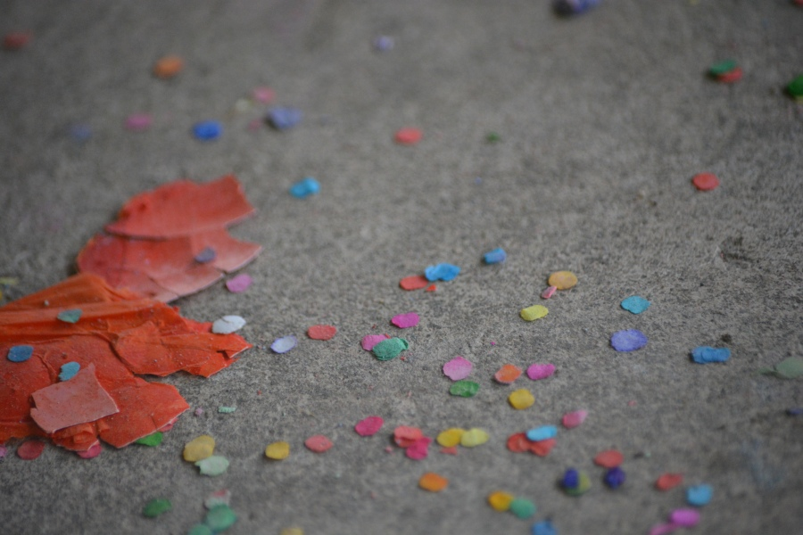 Cascarones - Egg shells filled with confetti