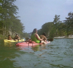 Summer on the Frio River