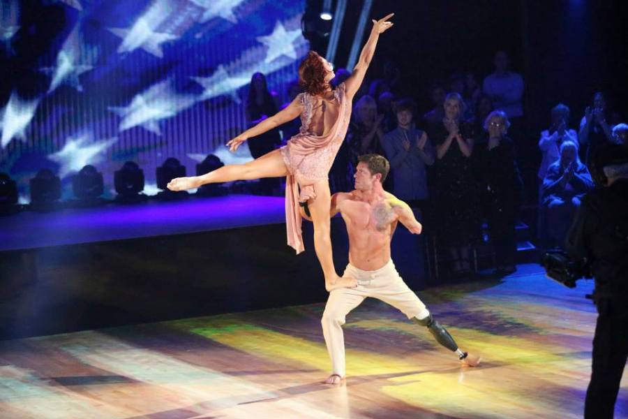 Noah Galloway & Sharna Burgess Dancing with the Stars