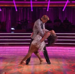 Amber Riley & Derek Dancing with the Stars