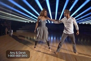 Amy Purdy & Derek contemporary DWTS