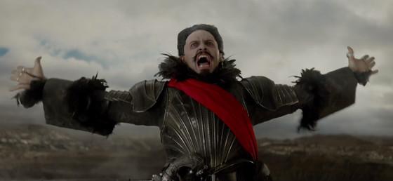Captian Blackbeard Hugh Jackman in Pan