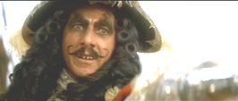 How about Dustin Hoffman's Captain Hook?