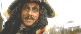 How about Dustin Hoffman's Captain Hook?