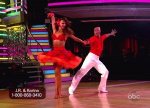 JR Martinez & Karina Smirnoff Dancing with the Stars