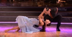 Meryl and Maks on Dancing with the Stars