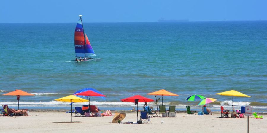 Texas Summer is best on the water. Port Aransas