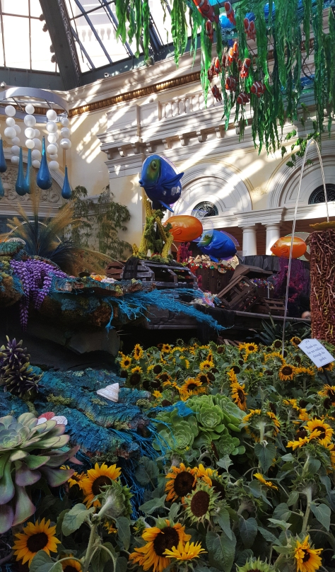 Bellagio in Vegas. Theme - Under the under the Sea with Summer Gardens at the Conservatory & Botanical Gardens