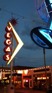Historical Signage on Fremont in Las Vegas - photo by Jolene Navarro
