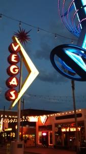 Historical Signage on Fremont in Las Vegas - photo by Jolene Navarro