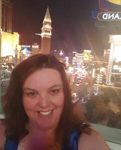 My selfie in Vegas - I need to practice - Jolene Navarro