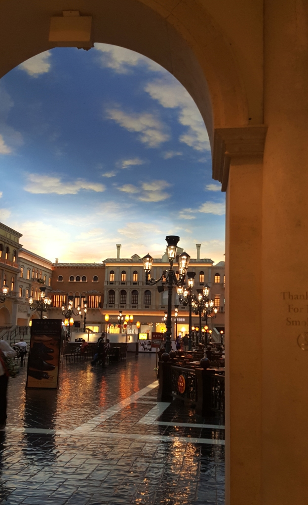 The Palazzo in Vegas is an adventure all in its self! You don't even need to leave the hotel.