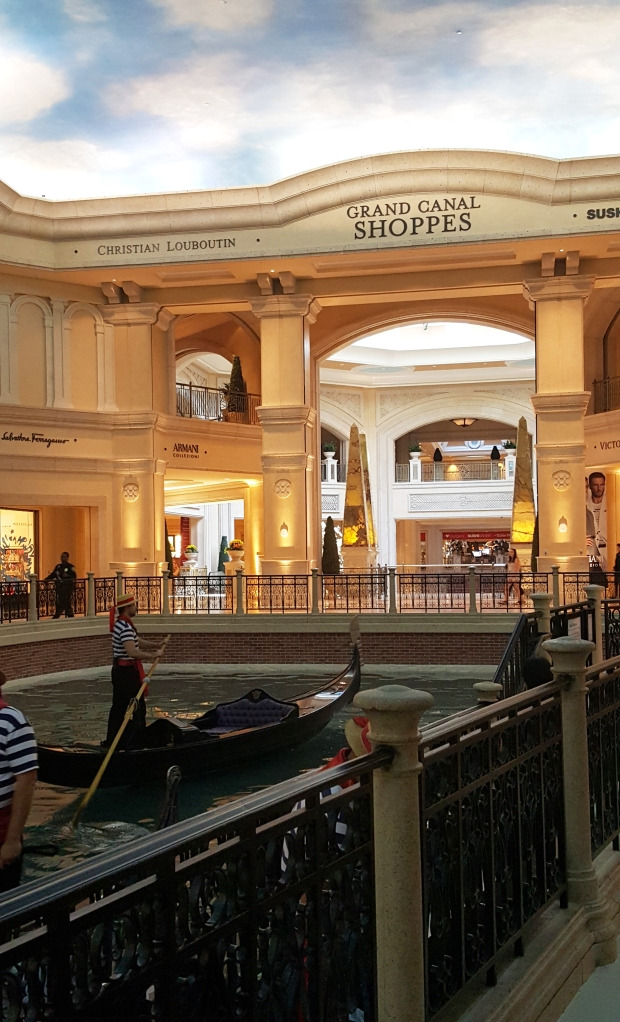 Vienna is not far away when you are staying at the Palazzo in Las Vegas.