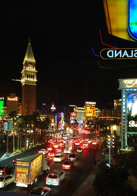 Vegas Strip - North of the Palazzo