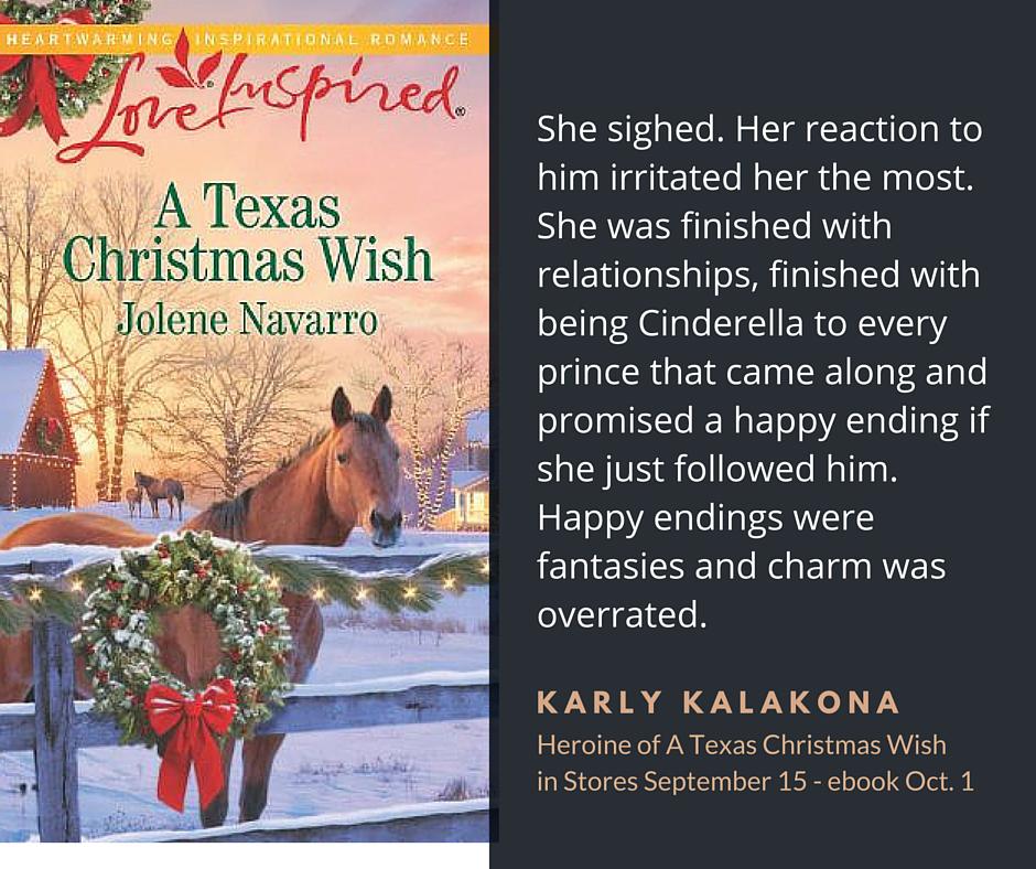 New book release from Jolene Navarro. A Texas Christmas Wish