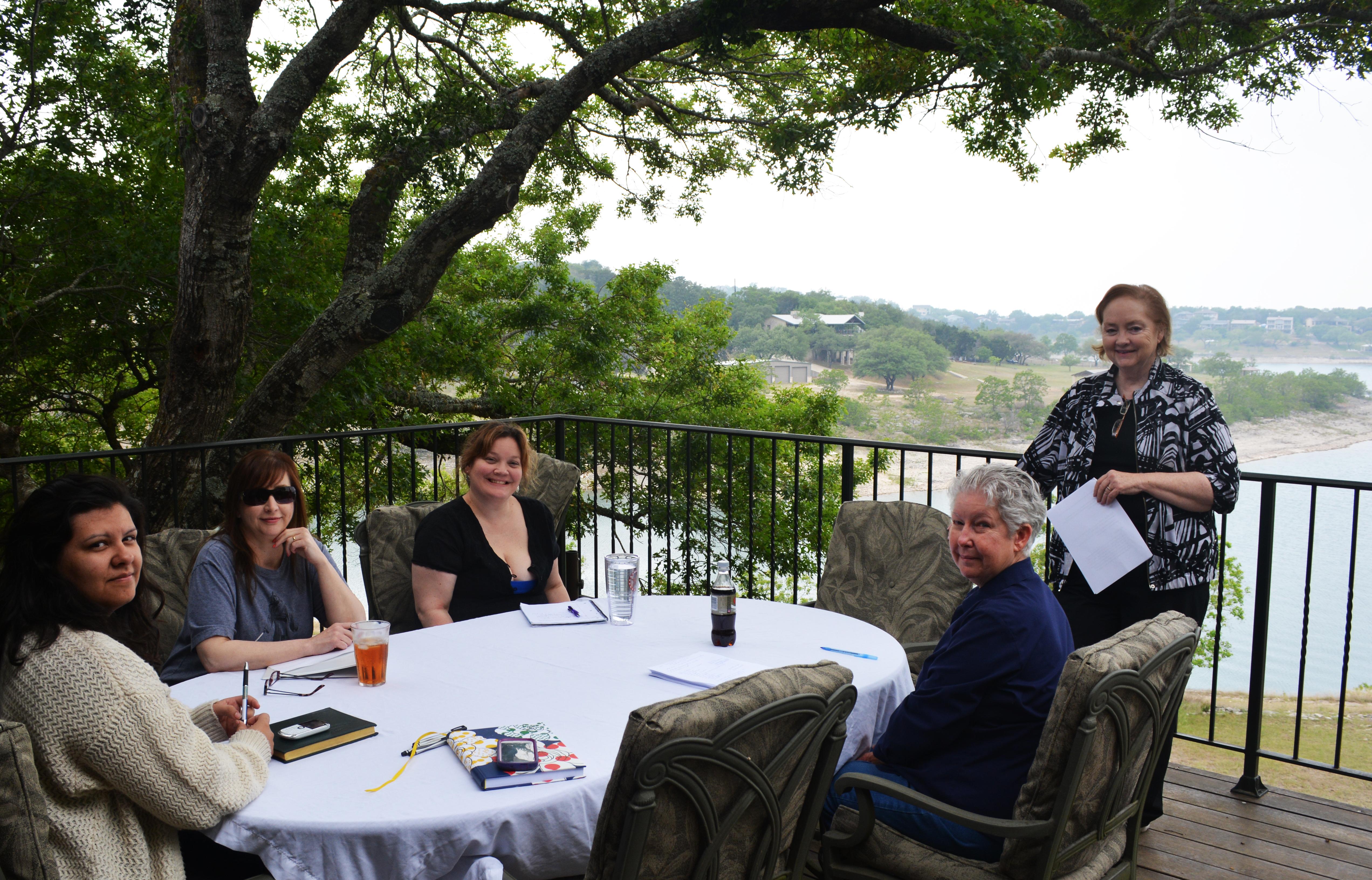 Talking story with Storm Navarro, Joni Hahn, Sasha Summers, Jodi Thomas, and Marilyn Tucker