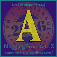 A in A to Z blogging challenge