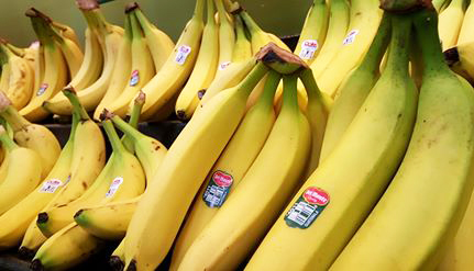 Bananas are a happy fruit - your brain likes them.