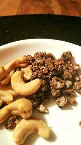 cashews organic cocoa chia gronola