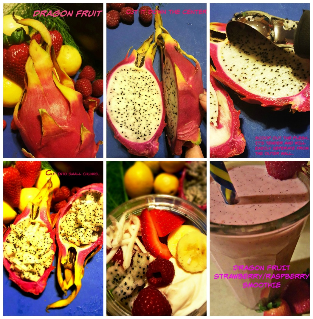 Dragon fruit how to use it