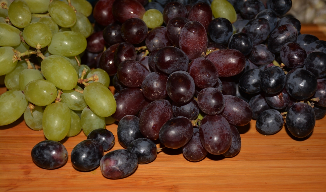 Grapes a healthy food choice - the darker the better