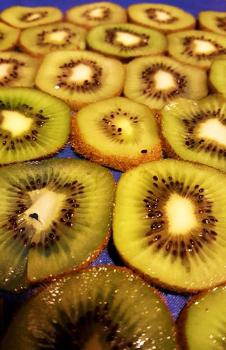 Kiwi! Antioxidant protection, potassium, fiber, magnesium and zinc and lots of vitamin C