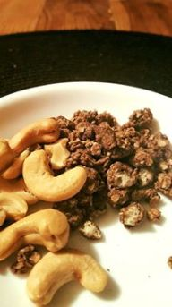 nuts and coco granola chia clusters