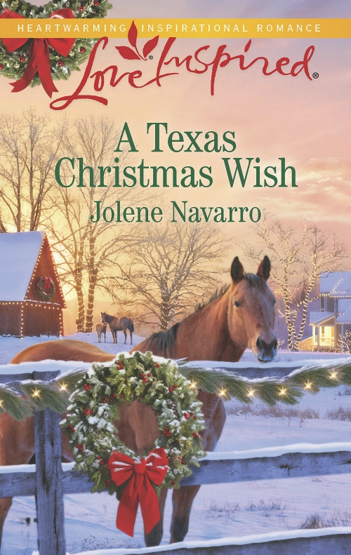A Texas Christmas Wish- Jolene Navarro - Author - Love Inspired - Harlequin