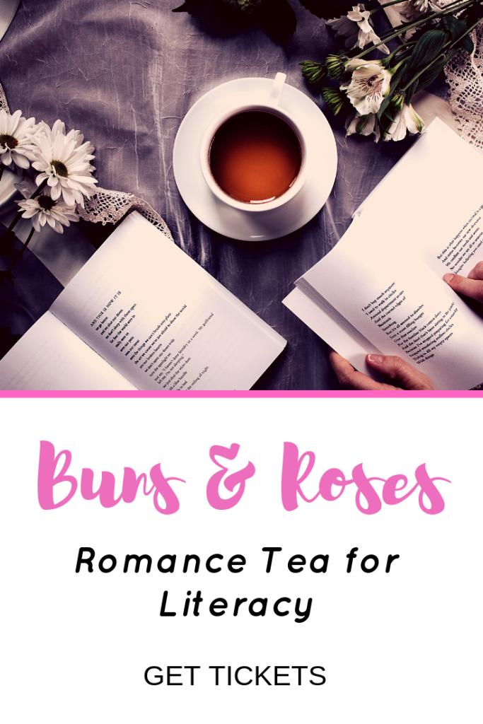 Buns & Roses - Romance Tea for Literacy - Jolene Navarro - Author - Romance Books