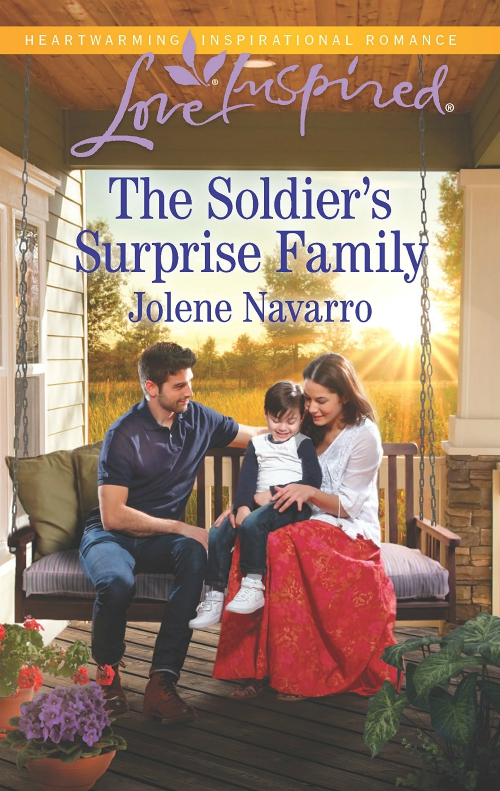 The Soldier's Surprise Family - Jolene Navarro - Author - Love Inspired - Harlequin
